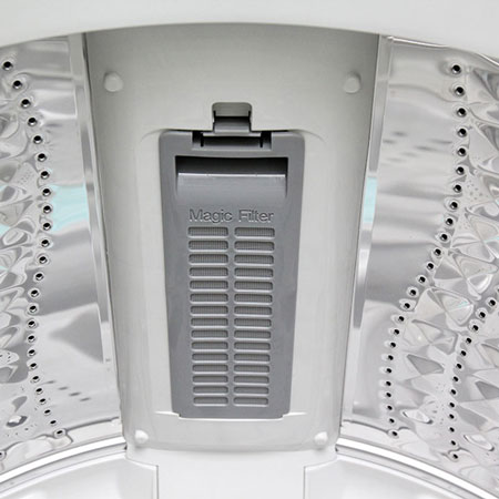 Máy Giặt SAMSUNG 9.0 Kg WA90F5S3QRW/SV