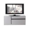 Tủ tivi Lineo 120 cm trắng/đen CTV-LINEO-120