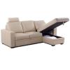 Sofa L + ngăn kéo 753C Kem