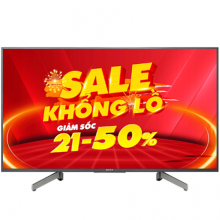 Android Tivi Sony 4K 49 inch KD-49X8000G VN3