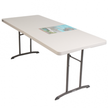 Bàn Xếp L/T TABLE-30 X72 FOLDING
