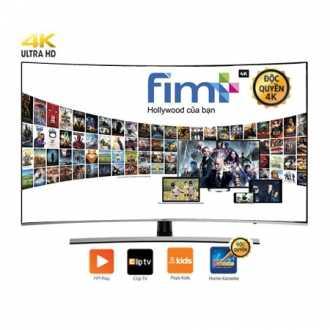 Smart Tivi 4K SAMSUNG 55 Inch UA55NU8500KXXV Màn Hình Cong