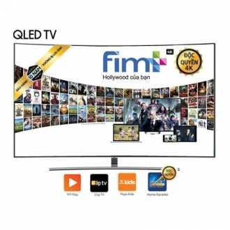 Smart Tivi QLED Màn Hình Cong Samsung 65 Inch QA65Q8CNAKXXV