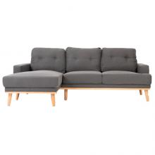 Sofa L (Góc Trái) RICHY 1757 360CM Xám